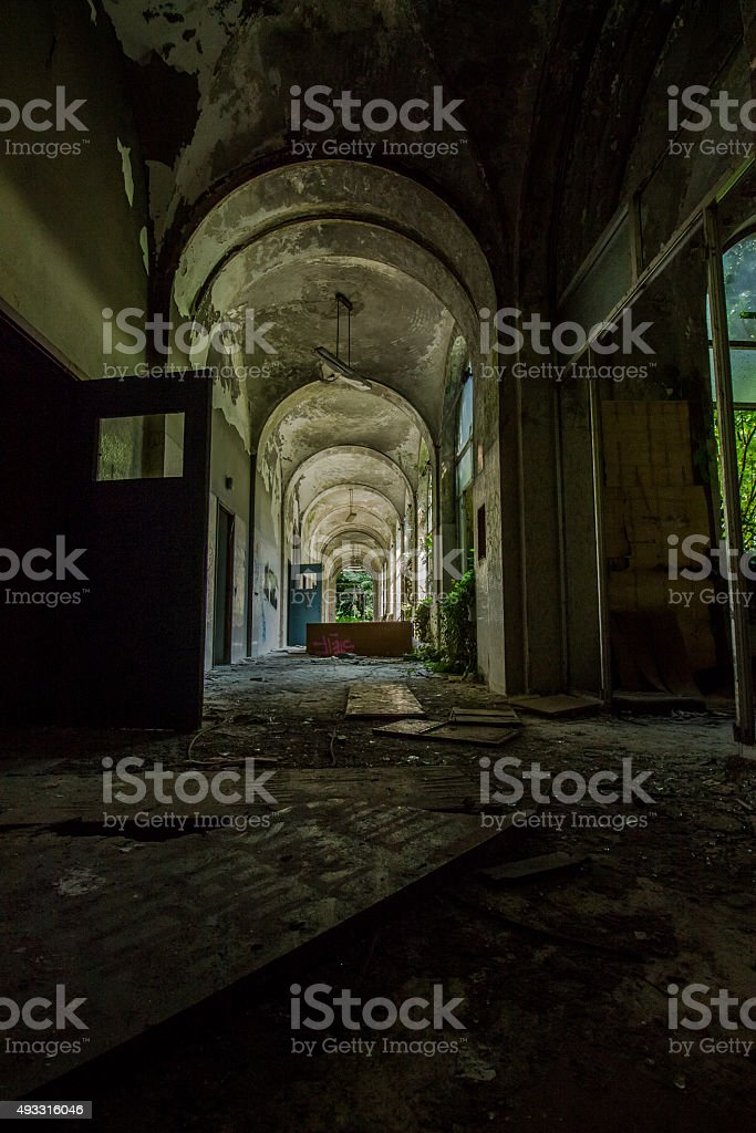 Sanitarium stock photo