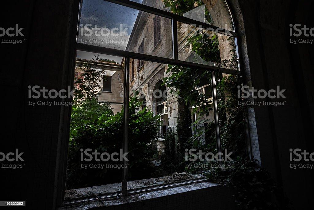 Sanitarium stock photo