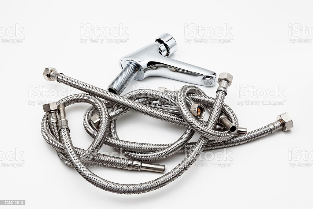sanitary flexible stock photo