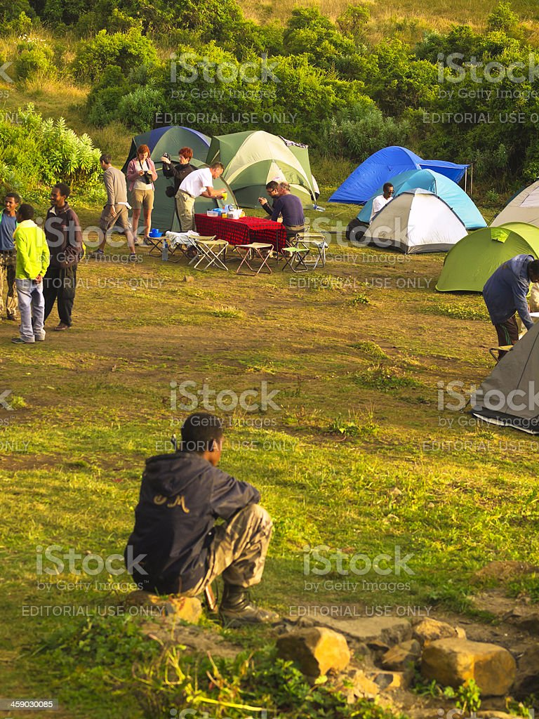 Sanka Ber Camp royalty-free stock photo