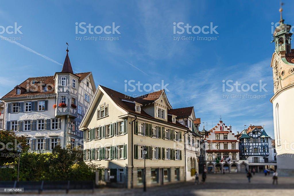 Sankt Gallen, the Old Town - Switzerland stock photo