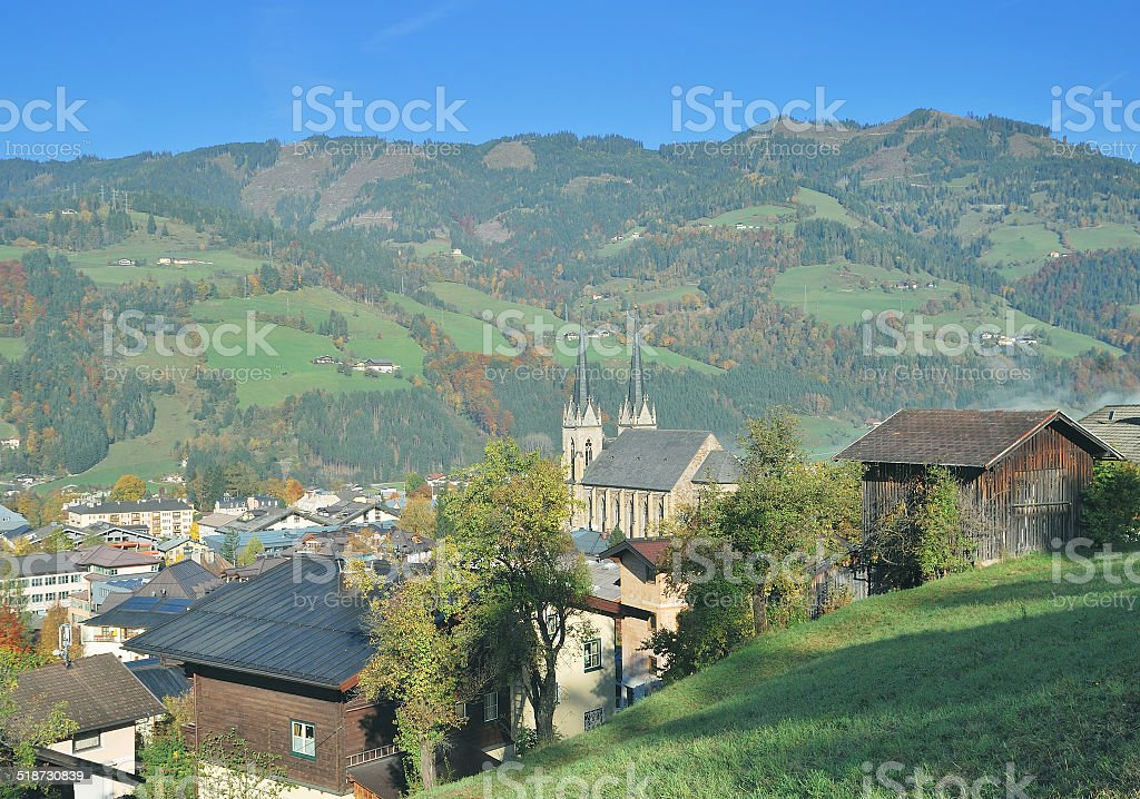 Sankt Johann im Pongau,Salzburger Land,Austria stock photo