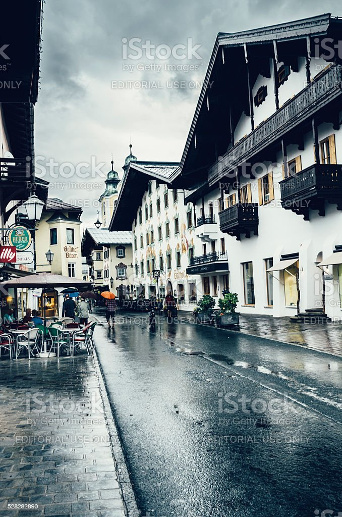 Sankt Johann in Tirol, Austria stock photo