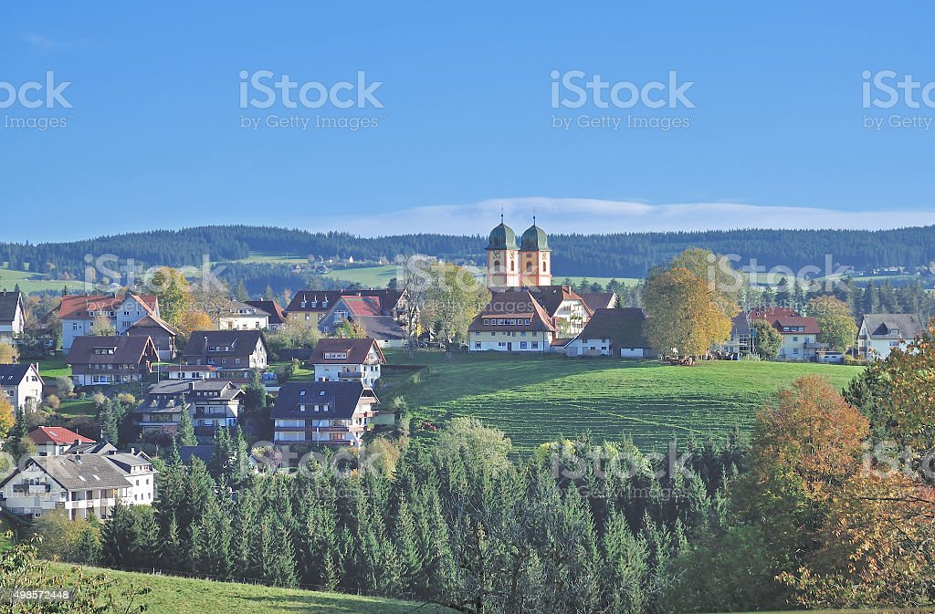 Sankt Maergen,Black Forest,Germany stock photo
