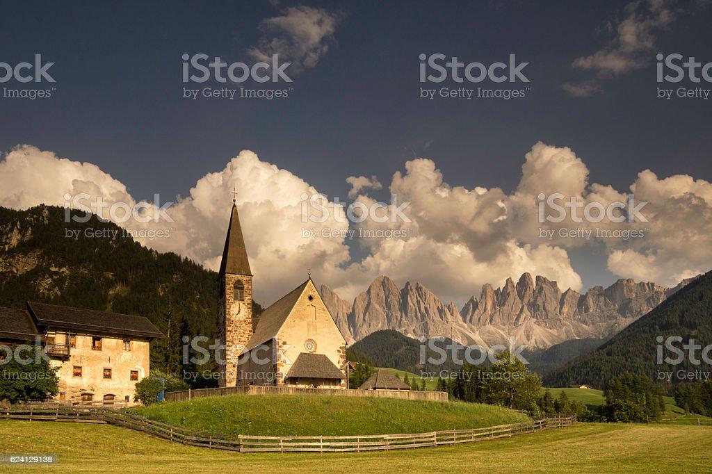 Sankt Magdalena church stock photo