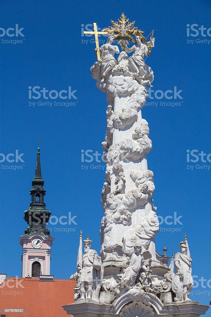 Sankt Poelten Architecture stock photo