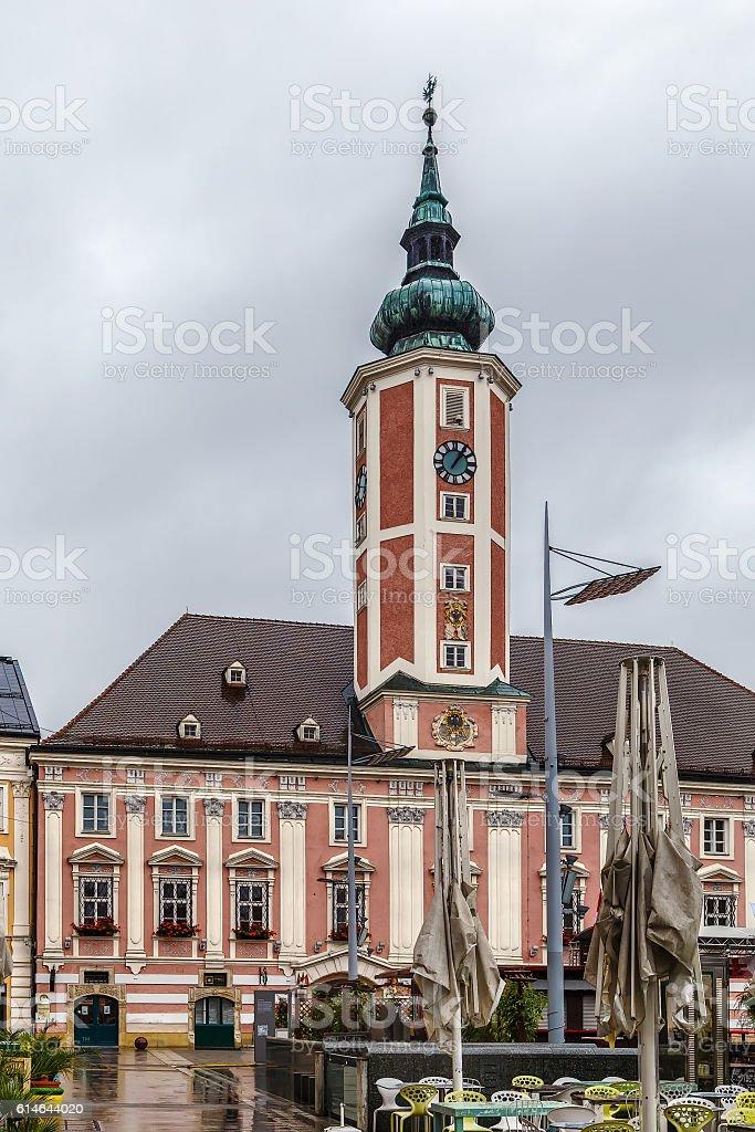 Sankt Polten town hall, Austria stock photo