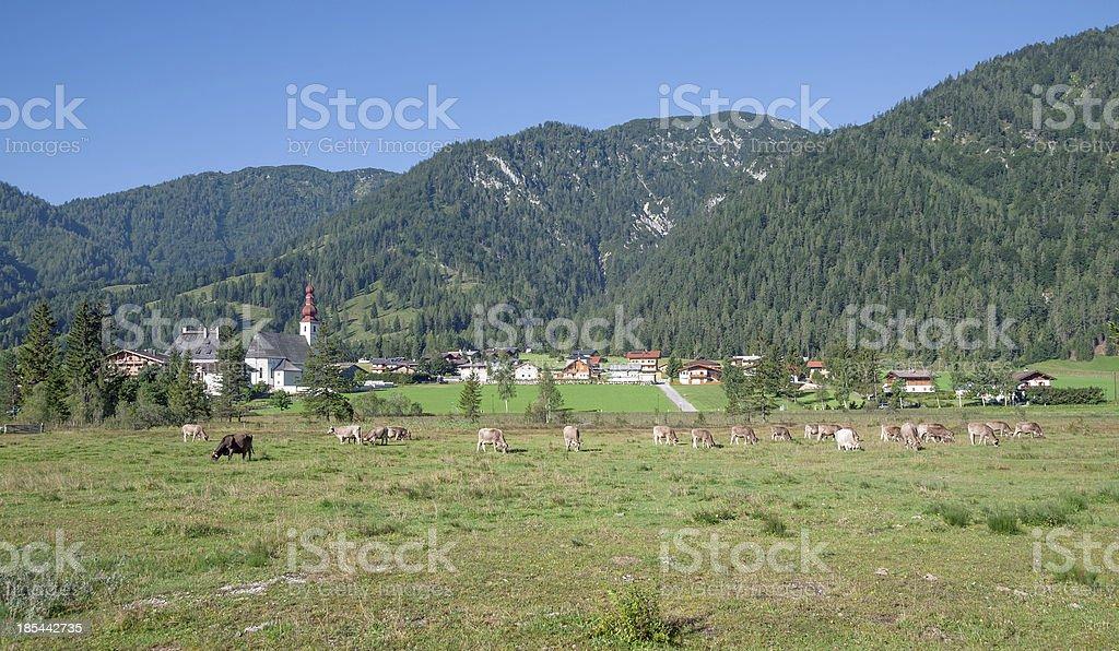 Sankt Ulrich am Pillersee,Tirol,Austria royalty-free stock photo