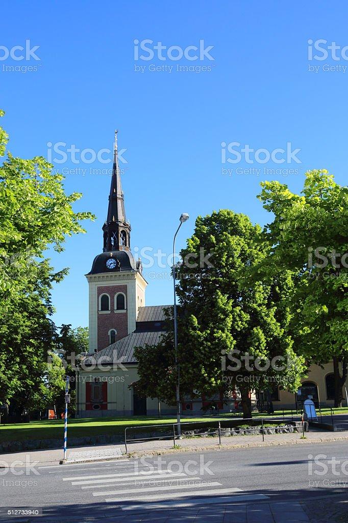Sankta Ragnhilds Kyrka stock photo
