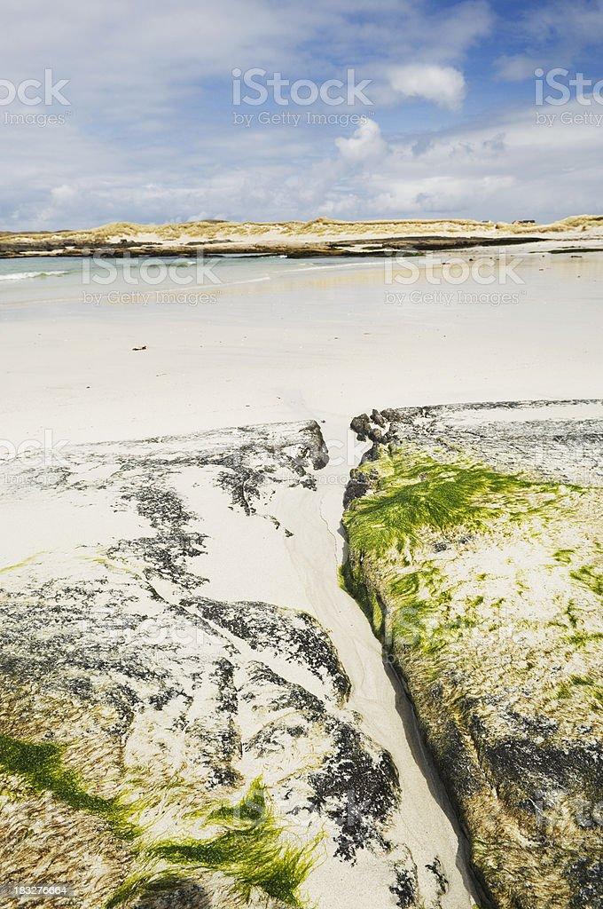 Sanna beach, Ardnamurchan stock photo