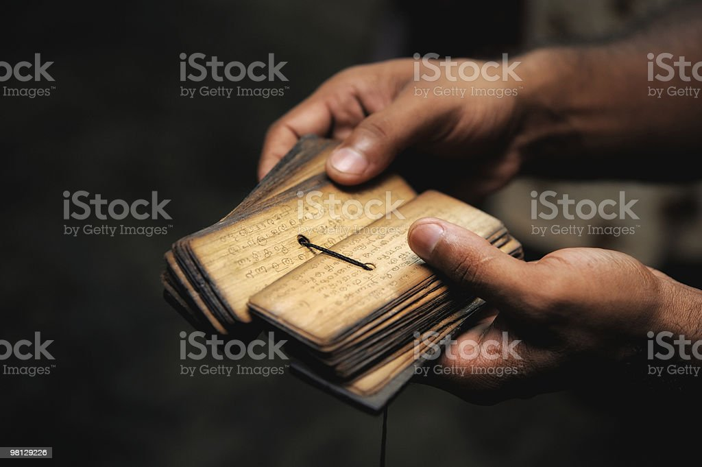 Sanskrit stock photo