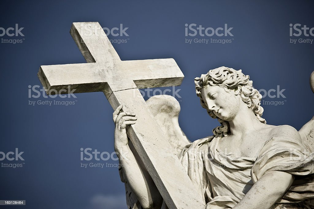 Sant Angelo Angel royalty-free stock photo