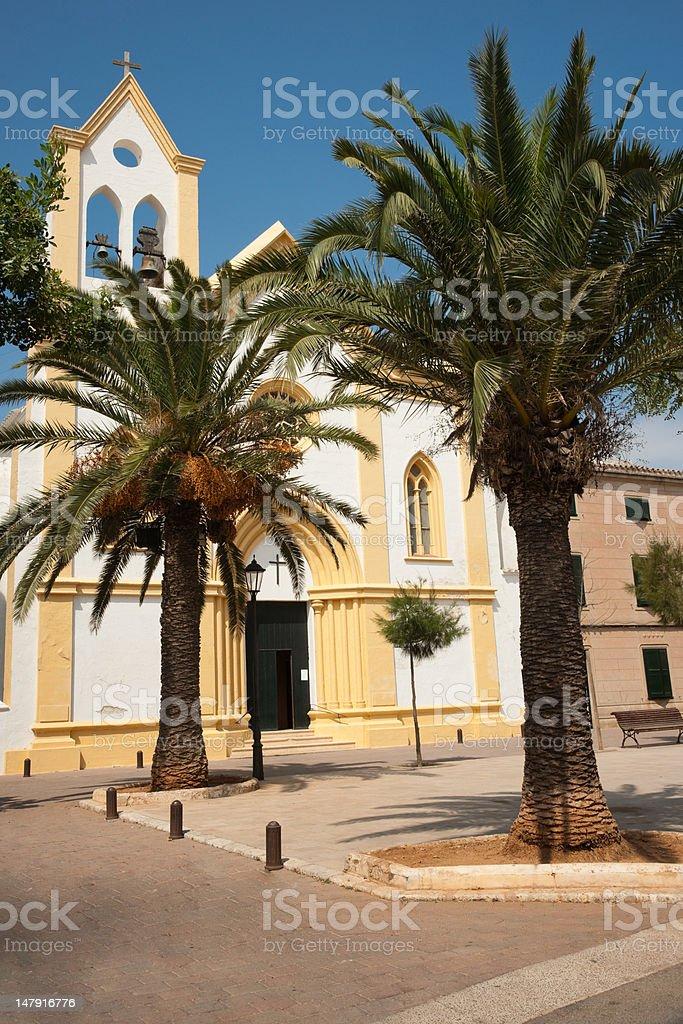 Sant Climent church stock photo
