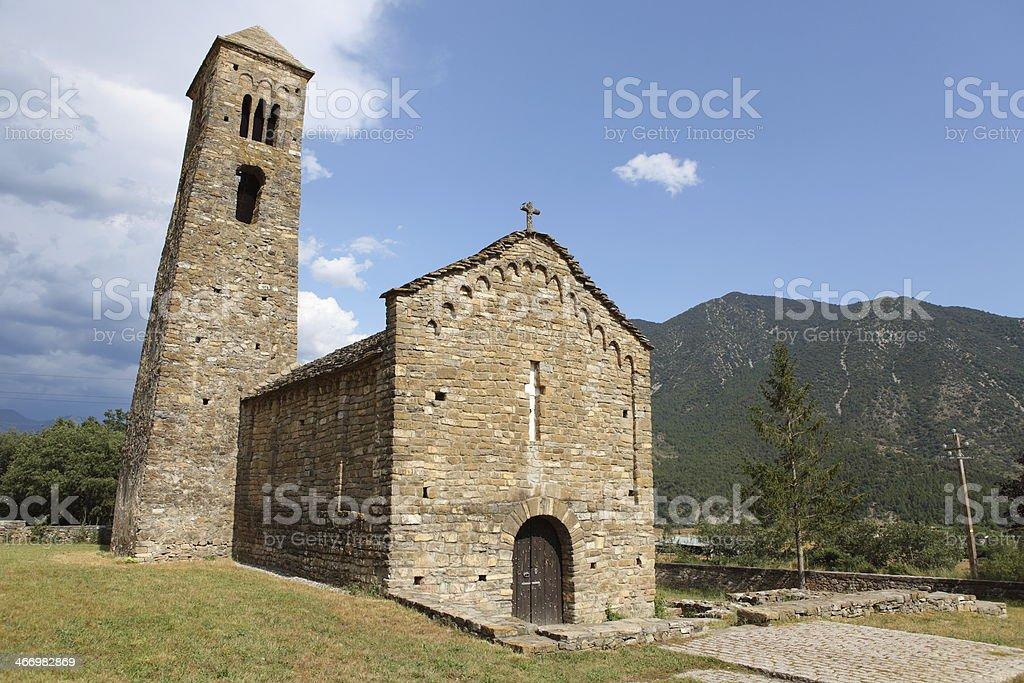 Sant Climent - Coll de Narg? stock photo
