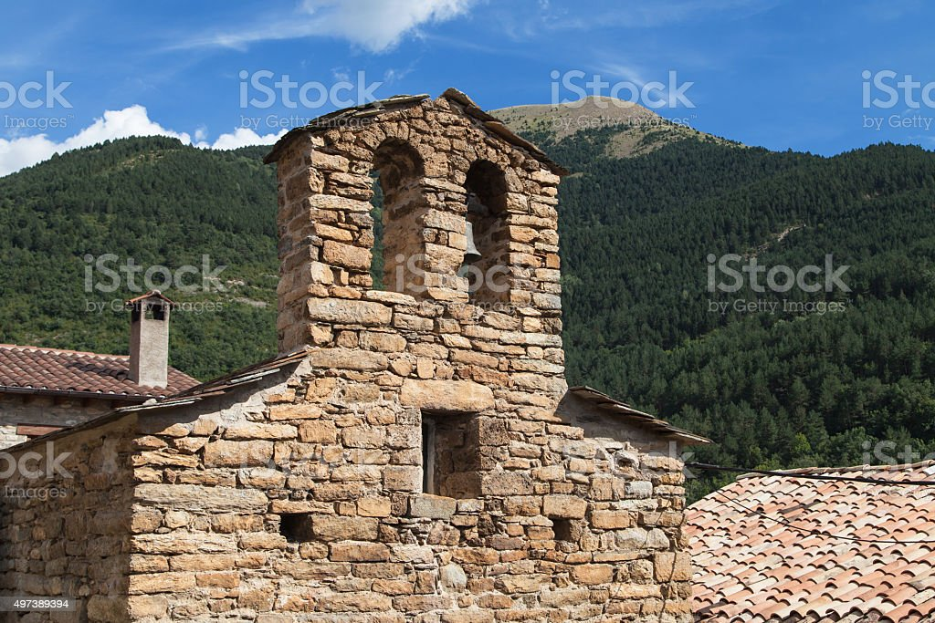 Sant Climent de Iran stock photo