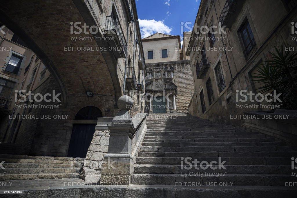 Sant Marti Sacosta stock photo