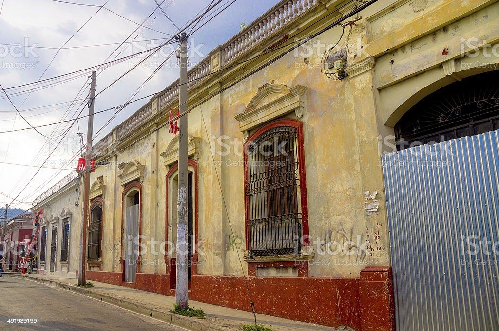 Santa Ana in El Salvador stock photo