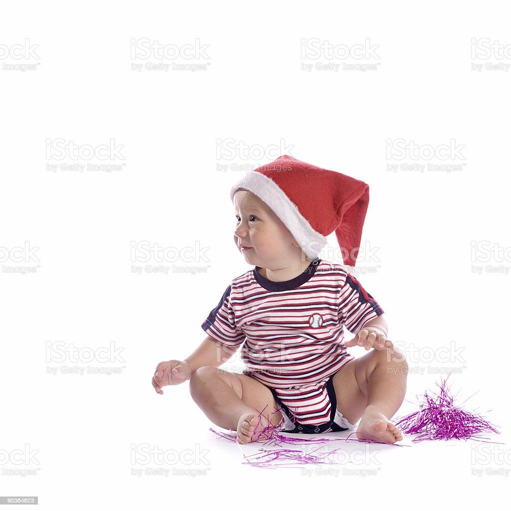 santa baby royalty-free stock photo