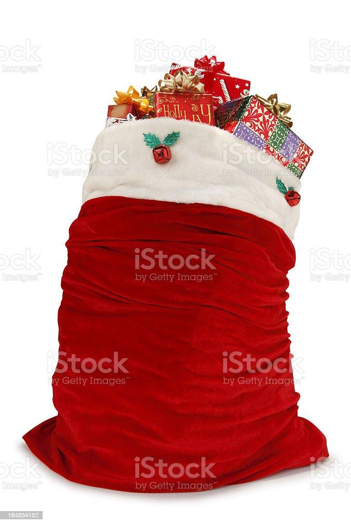 Santa Bag royalty-free stock photo