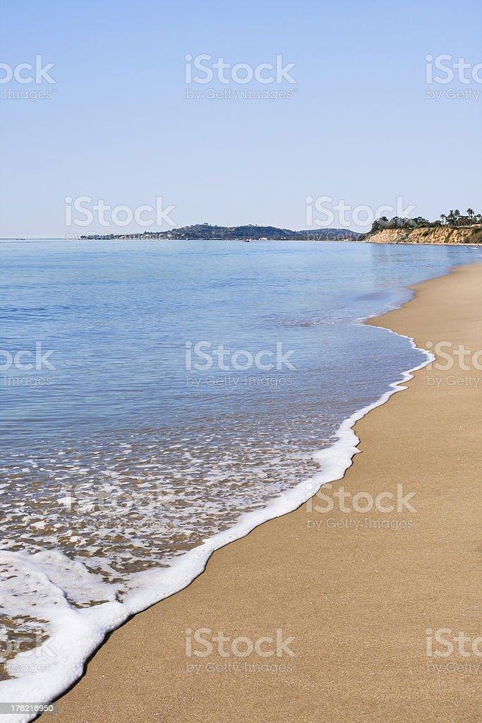 Santa Barbara Beach stock photo
