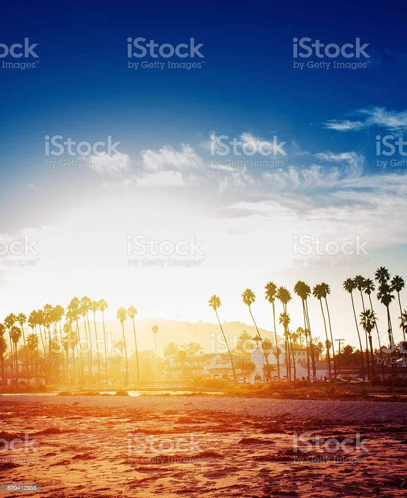 Santa Barbara California stock photo