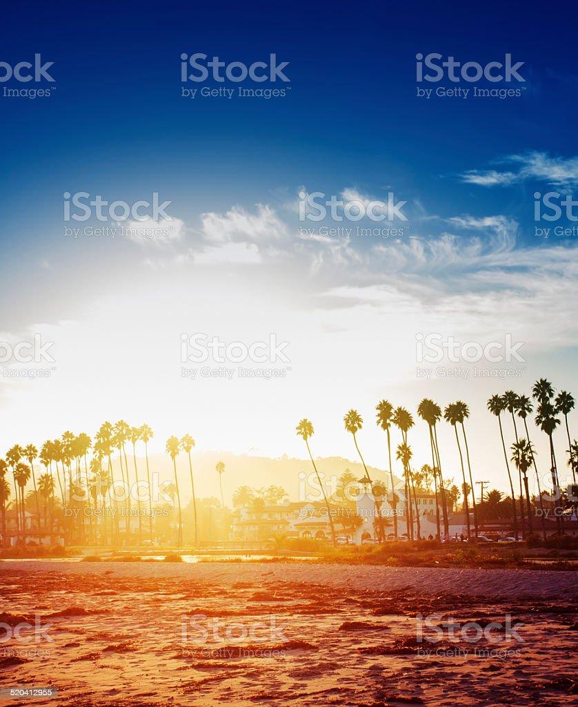 Santa Barbara California stock photo
