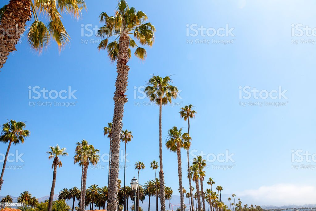 Santa Barbara - California stock photo