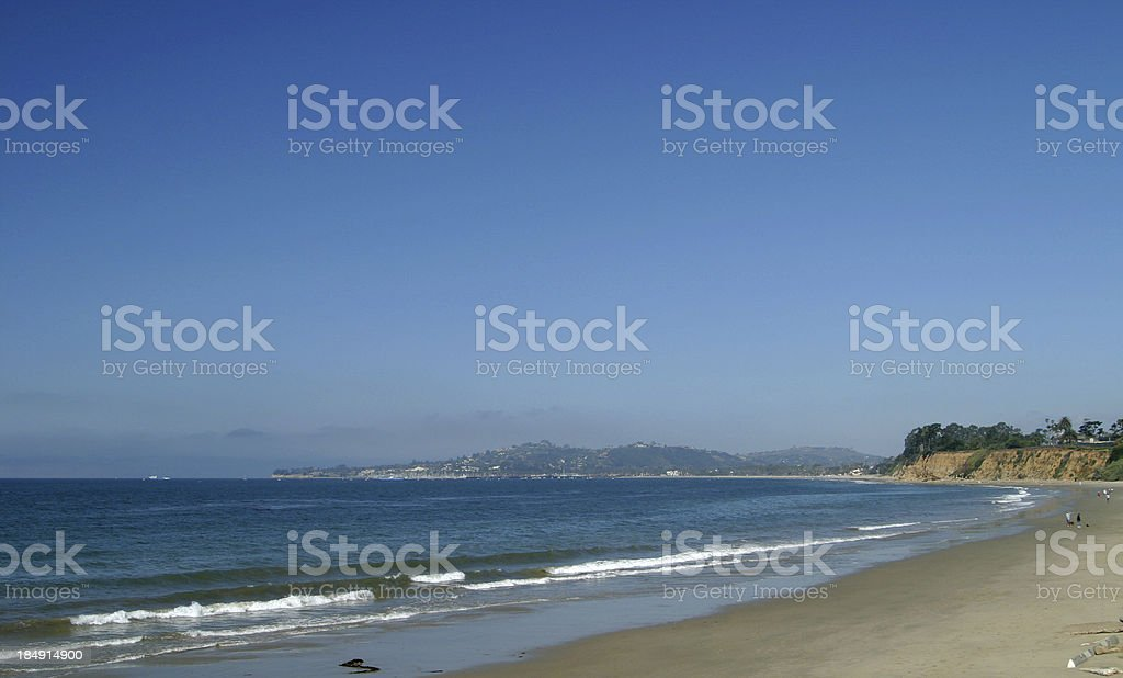 Santa Barbara Coast stock photo