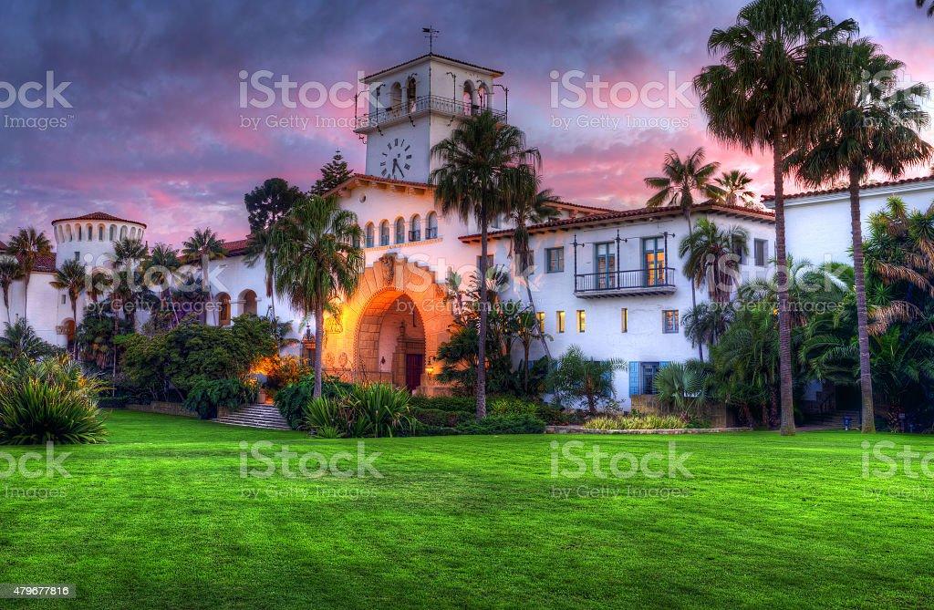 Santa Barbara Courthouse. stock photo