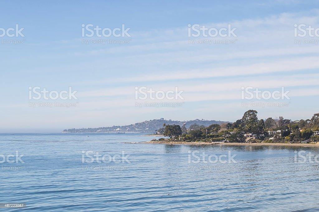 Santa Barbara Cove stock photo