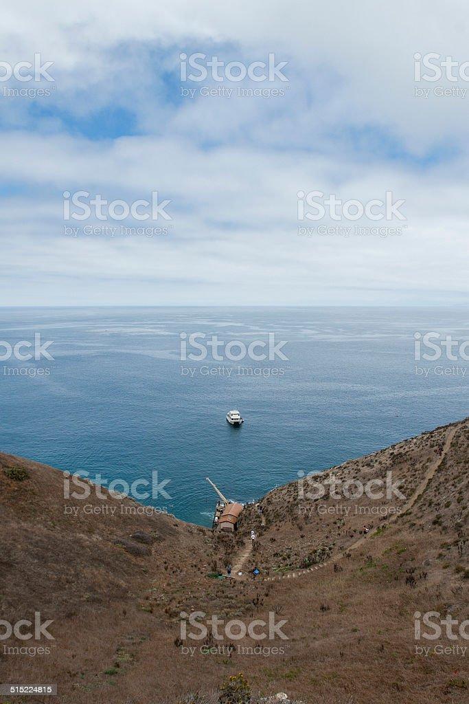 Santa Barbara Island stock photo
