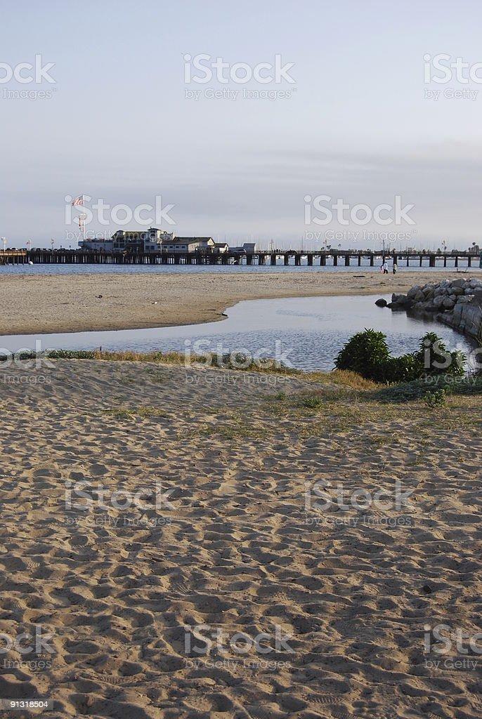 Santa Barbara Pier stock photo
