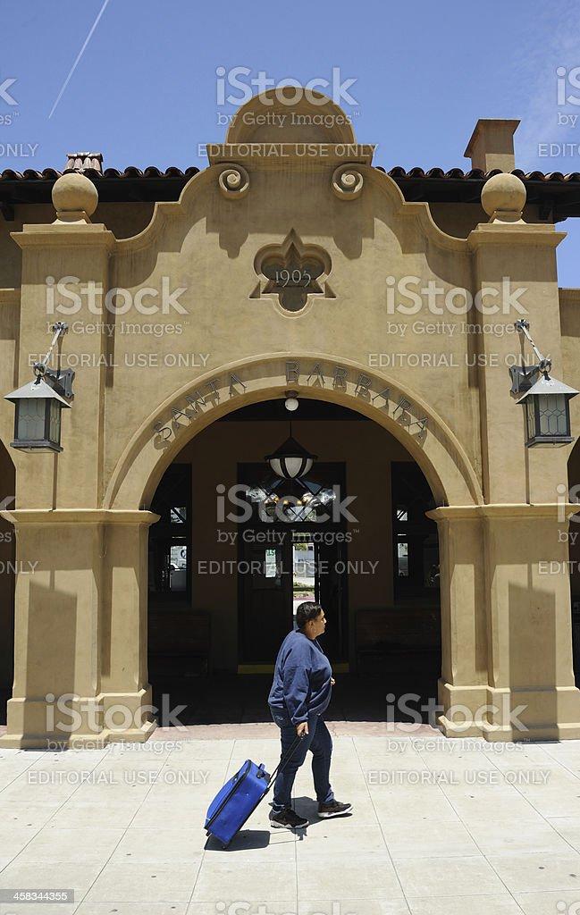 Santa Barbara Station royalty-free stock photo
