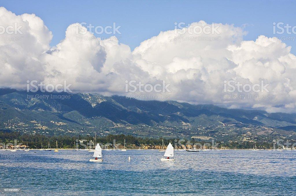 Santa Barbara Waterfront stock photo