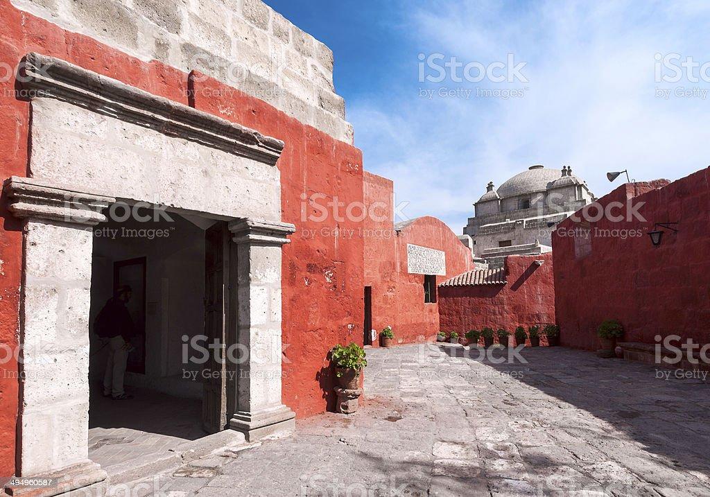 Santa Catalina Monastery, Arequipa, Peru stock photo