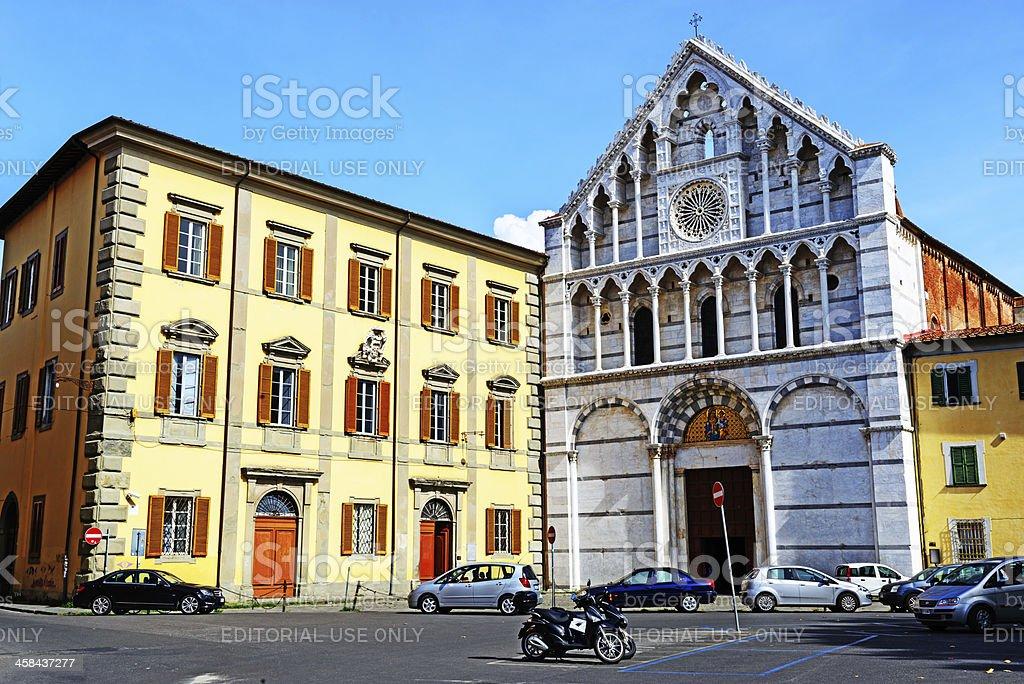 Santa Caterina Church in Pisa, Italy royalty-free stock photo