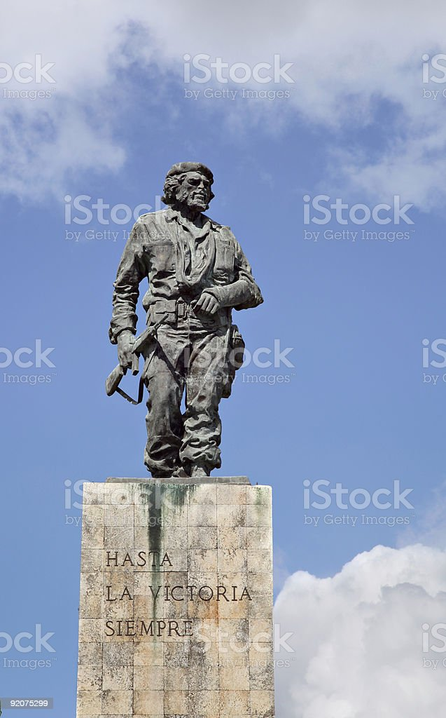 Santa Clara Che Guevarra Statue stock photo
