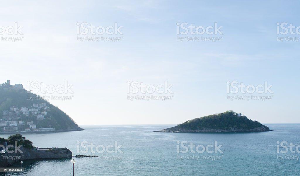 Santa Clara island stock photo