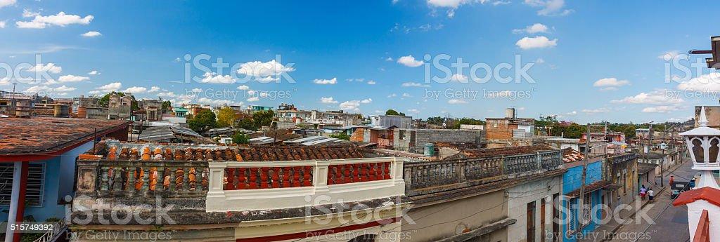 Santa Clara Panorama, Cuba stock photo