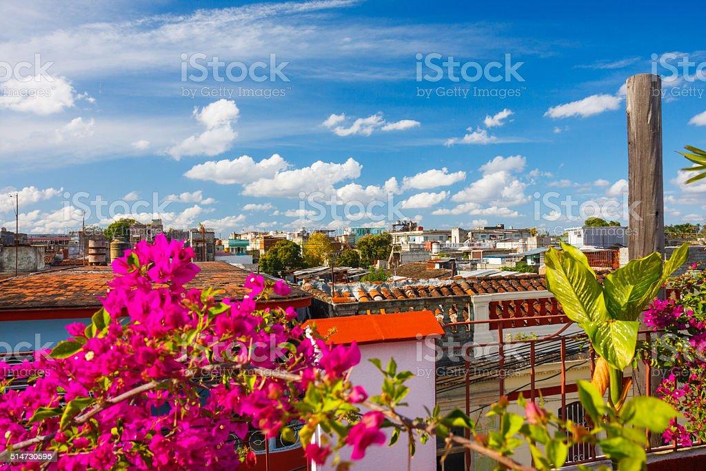 Santa Clara view, Cuba stock photo