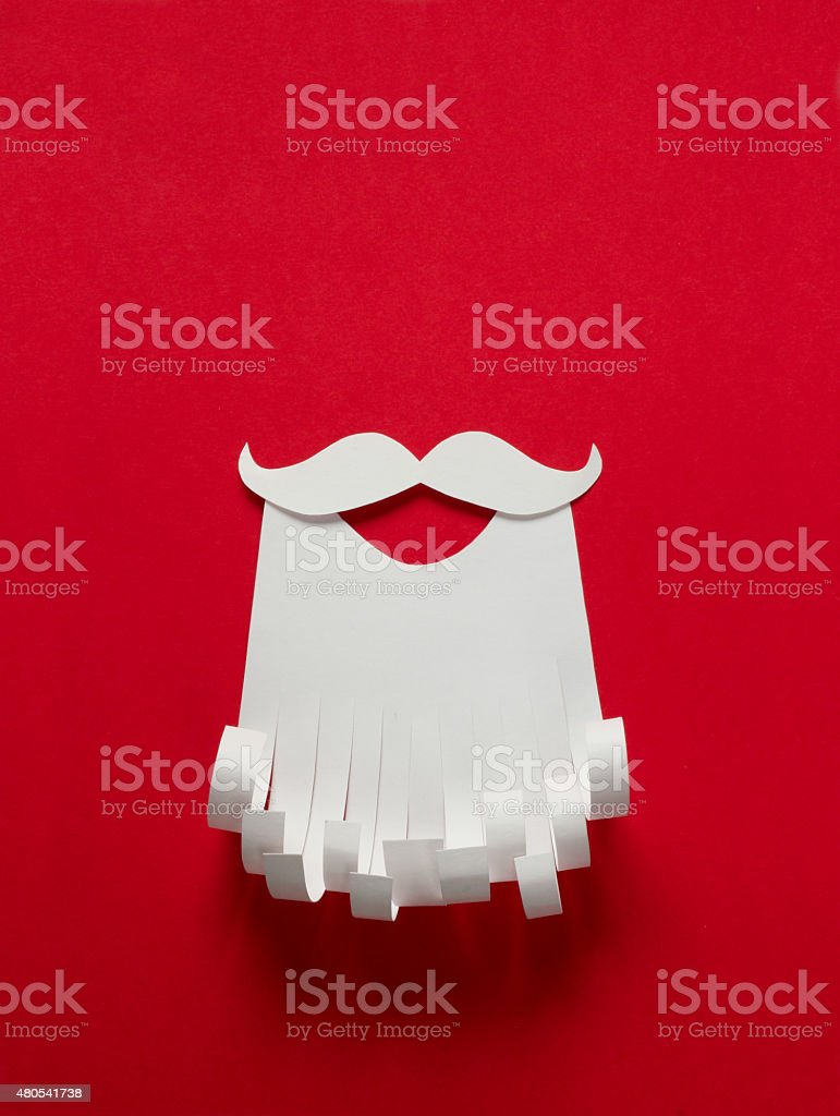 Santa Claus conceptual background stock photo