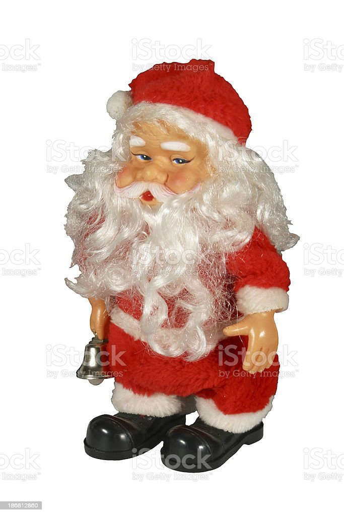 Santa Claus Doll Toy stock photo