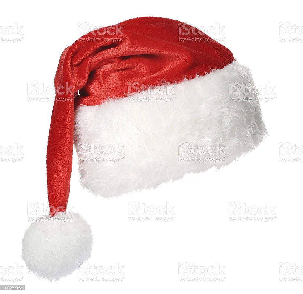 Santa Claus hat stock photo