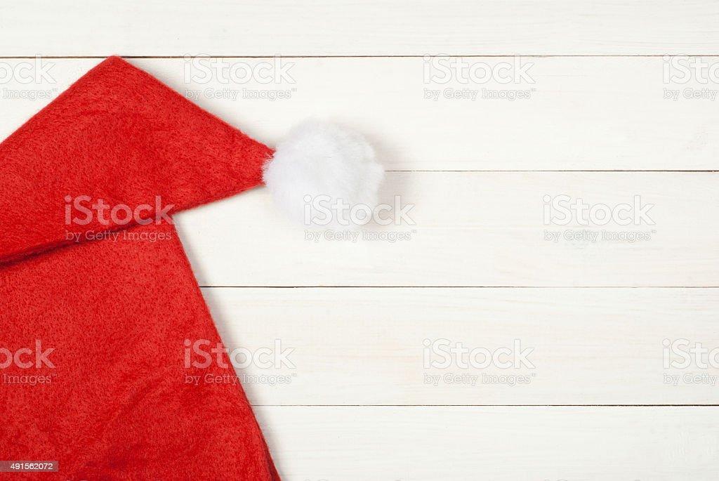 Sombrero de Santa Claus foto de stock libre de derechos