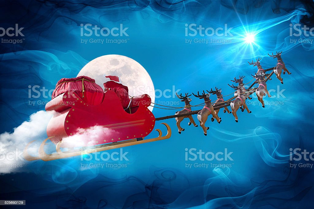 Santa Claus legend stock photo
