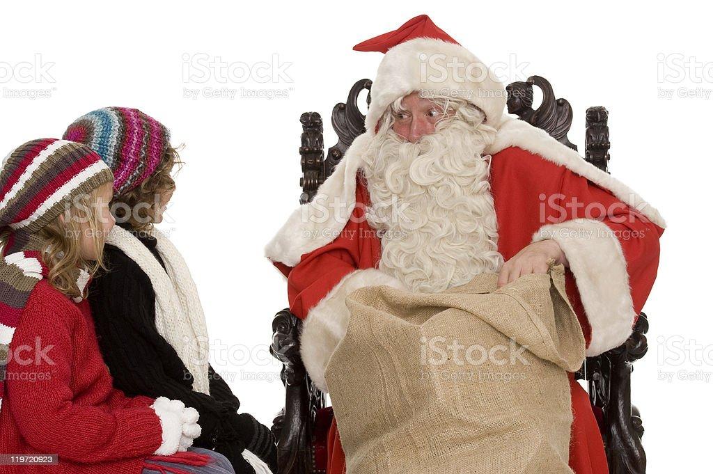 Santa Claus stock photo