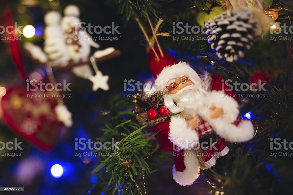 Santa Claus Puppet royalty-free stock photo