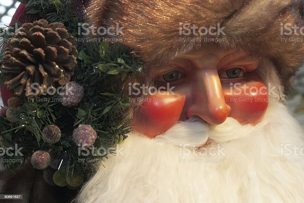 Santa Claus Statue royalty-free stock photo