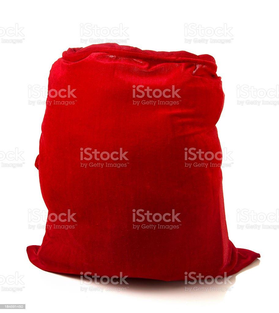 Santa Claus's Sack stock photo