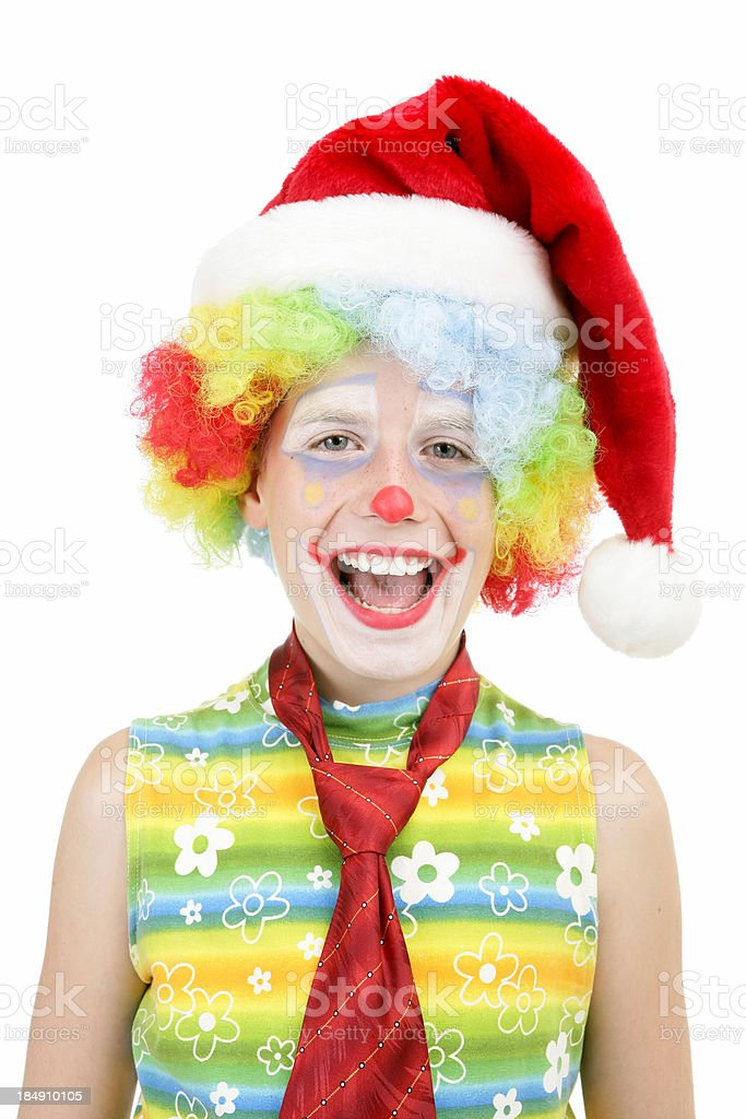 Santa clown royalty-free stock photo